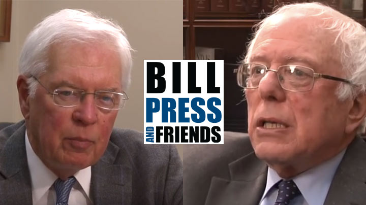 Bernie Sanders interviewed by Bill Press
