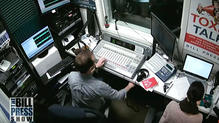 Bill Press Studio Broadcast