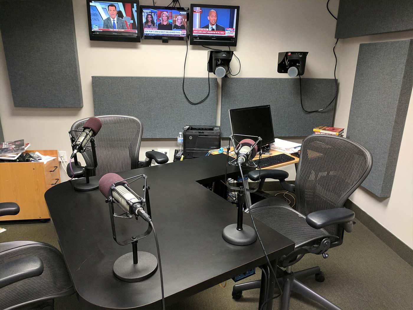 Podcast Studio Rentals In Washington, DC - District Productive