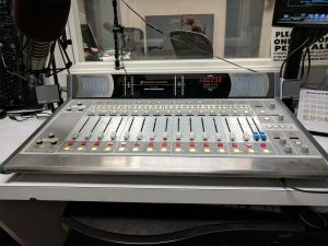 Podcast Mixing Console